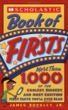 Scholastic Book Of Firsts - Jim Buckley