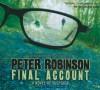 Final Account  - Peter Robinson, James Langton