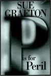 """""""P"""" is for Peril - Sue Grafton"""