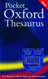Pocket Oxford Thesaurus - Maurice Waite