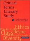 Critical Terms for Literary Study - Frank Lentricchia, Thomas McLaughlin