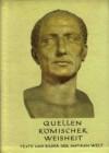 Quellen römischer Weisheit - Hettinger Eugen