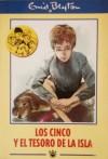 Los Cinco y el tesoro de la isla  - Enid Blyton, Juan Ríos de la Rosa