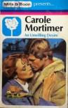 An Unwilling Desire - Carole Mortimer