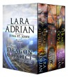 Dragon Chalice (Boxed Set:Heart of the Hunter, Heart of the Flame, Heart of the Dove) - Lara Adrian