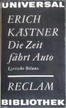 Die Zeit fährt Auto - Erich Kästner