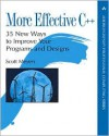 More Effective C++: 35 New Ways to Improve Your Programs and Designs - Scott Meyers