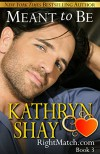 Meant to Be (RightMatch.com Book 3) - Kathryn Shay