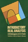 Introductory Real Analysis (Dover Books on Mathematics) - A.N. Kolmogorov, S.V. Fomin, Richard A. Silverman