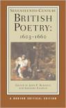 Seventeenth-Century British Poetry, 1603-1660 - John P. Rumrich