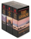 The Sword of Truth, Boxed Set I: Wizard's First Rule, Blood of the Fold, Stone of Tears - Terry Goodkind