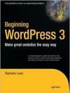 Beginning WordPress 3 - Stephanie Leary