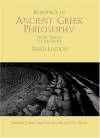 Readings in Ancient Greek Philosophy: From Thales to Aristotle - S. Marc Cohen, Patricia Curd, C.D.C. Reeve