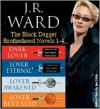 The Black Dagger Brotherhood Novels 1-4 - J.R. Ward