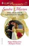 The Sicilian's Christmas Bride - Sandra Marton