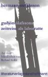 Guðjón Ólafssons Zeitreise Als Laborratte - Hermann Stefánsson, Richard Kölbl