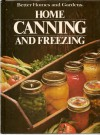 Home Canning and Freezing - Dan Dooley