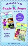 Junie B. Jones and the Stupid Smelly Bus; Junie B. Jones and a Little Monkey Business - Barbara Park, Lana Quintal, Denise Brunkus