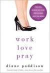 Work, Love, Pray: Practical Wisdom for Young Professional Christian Women and Those Who Want to Understand Them - Diane Paddison