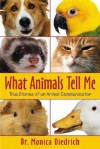 What Animals Tell Me: True Stories of an Animal Communicator - Monica Diedrich