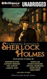 The Improbable Adventures of Sherlock Holmes - John Joseph Adams, Mary Robinette Kowal, Anne Flosnik, Simon Vance
