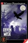 Raven Mask  - Winter Pennington