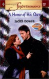A Home of His Own: Men of Glory (Harlequin Superromance No. 950) - Judith Bowen
