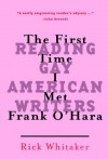 The First Time I Met Frank O'Hara: Reading Gay American Writers - Rick Whitaker, Iannis Delatolas