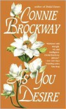 As You Desire: A Loveswept Historical Classic Romance - Connie Brockway
