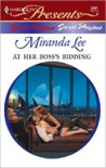 At Her Boss's Bidding (Secret Passions) - Miranda Lee
