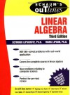 Schaum's Outline of Linear Algebra - Seymour Lipschutz, Marc Lipson