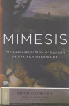 Mimesis: The Representation of Reality in Western Literature (New Expanded Edition) (Princeton Classics) - Erich Auerbach, Edward W Said, Willard R Trask