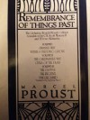 Remembrance of Things Past (3 Volume Set) - Marcel Proust