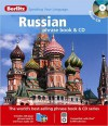 Berlitz Russian Phrase Book & CD -  Berlitz Publishing Company, Berlitz Publishing Company