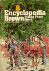 Encyclopedia Brown Tracks Them Down - Donald J. Sobol