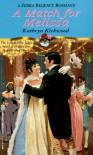 A Match For Melissa (Zebra Regency Romance) - Kathryn Kirkwood