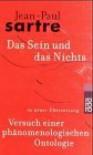 Das Sein und das Nichts: Versuch einer phänomenologischen Ontologie - Jean-Paul Sartre, Hans Schöneberg, Traugott König, Vincent von Wroblewsky