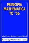 Principia Mathematica to 56 (Mathematical Library) - Bertrand Russell, Alfred North Whitehead