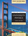 Sears and Zemansky's University Physics: Mechanics, Thermodynamics, Waves Acoustics Chapters 1-21, Student Solutions Manual - Hugh D. Young, Roger A. Freedman