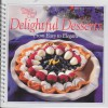 Delightful Desserts from Easy to Elegant (The Pampered Chef) - Pampered Chef, Doris Christopher