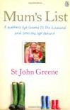 Mum's List - St. John Greene, Rachel Murphy