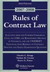 Rules of Contract Law, 2007-08 Statutory Supplement - Charles L. Knapp, Nathan M. Crystal, Harry G. Prince