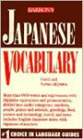 Japanese Vocabulary - Carol Akiyama