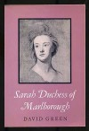 Sarah Duchess of Marlborough - David  Green