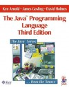 The Java Programming Language (The Java Series) - Ken Arnold, James Gosling, David Holmes