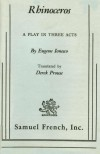 Rhinoceros, A Play in Three Acts - Eugène Ionesco, Derek Prouse
