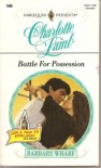 Battle For Possession - Charlotte Lamb