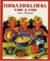 Flicka, Ricka, Dicka Bake a Cake - Maj Lindman