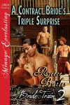 A Contract Bride's Triple Surprise  (Bride Train, #2) - Reece Butler
