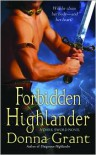 Forbidden Highlander: A Dark Sword Novel - Donna Grant